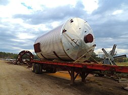 Industrial Steel Storage Tank manufacturing
