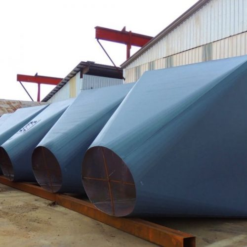 Feed Mill Hopper Fabrication