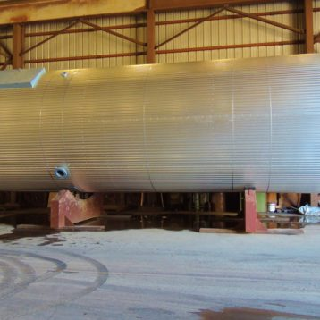 Insulated Fat Tank Fabrication