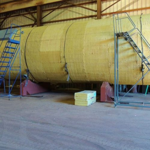 Heated Insulated Fat Tank Fabrication Works