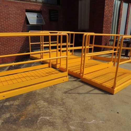 Steel Walkway Fabrication Alabama