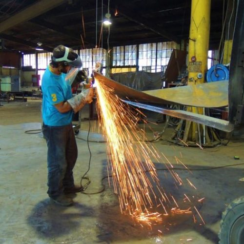 Structural Steel Welder and Metal Fabricator