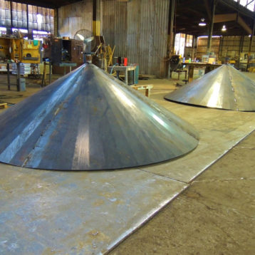 Custom Metal Cone Top Fabrication