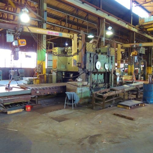 Steel Metal Flattener Workshop